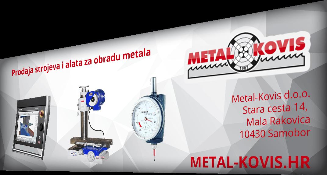Metal Kovis - Trgovina i servis alatnih strojeva